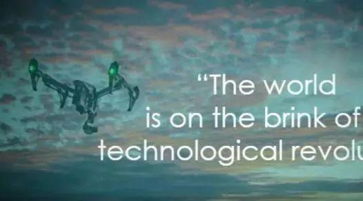 """英国企业家展望无人机的未来:""""世界正处于技术革命的边缘"""""""