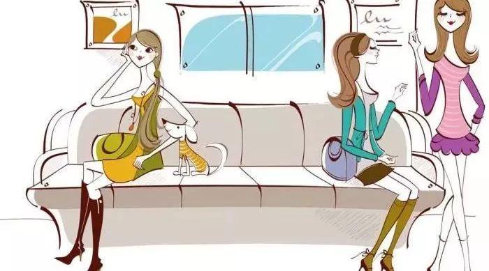别人家的地铁抢座新方式,你千万不要学!